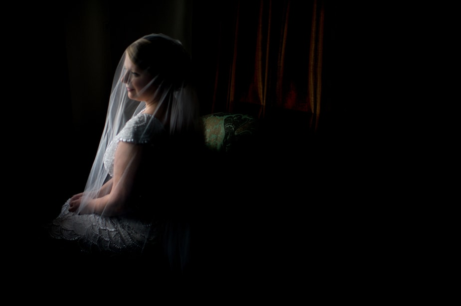 Bride portrait at a Highlands Country Club Wedding in Garrison, NY