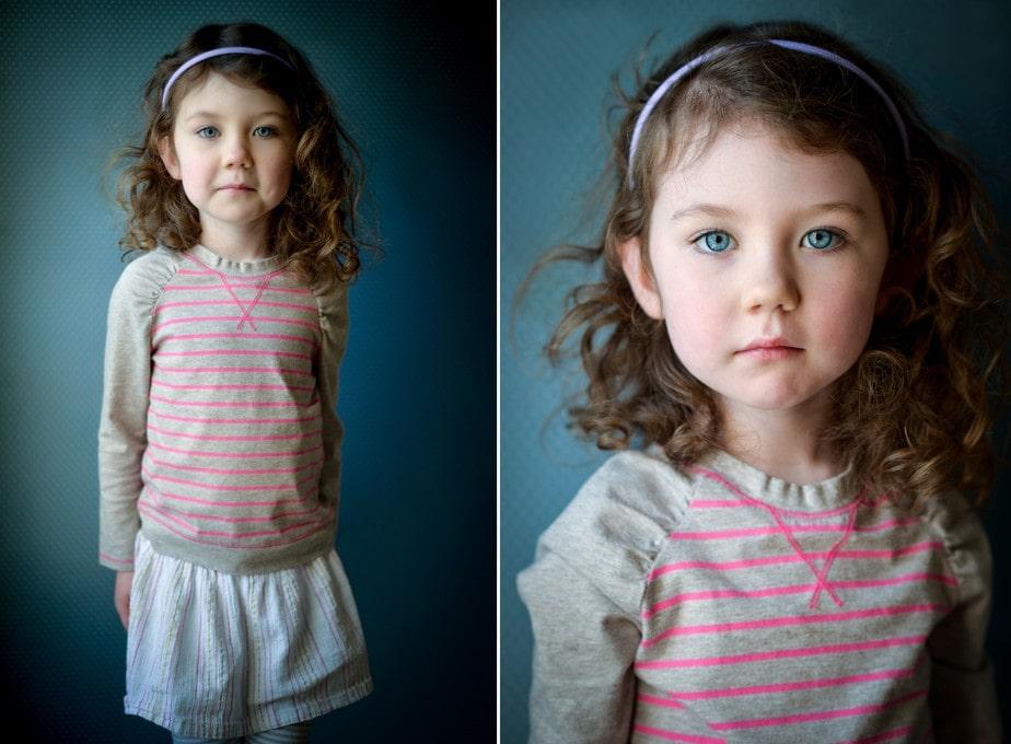 Natural Light Children's Portrait