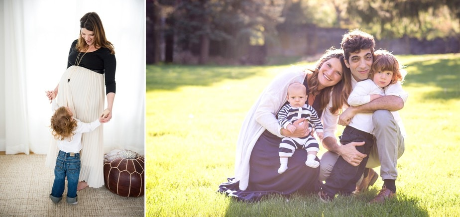 Maternity Portrait - Mother and Child