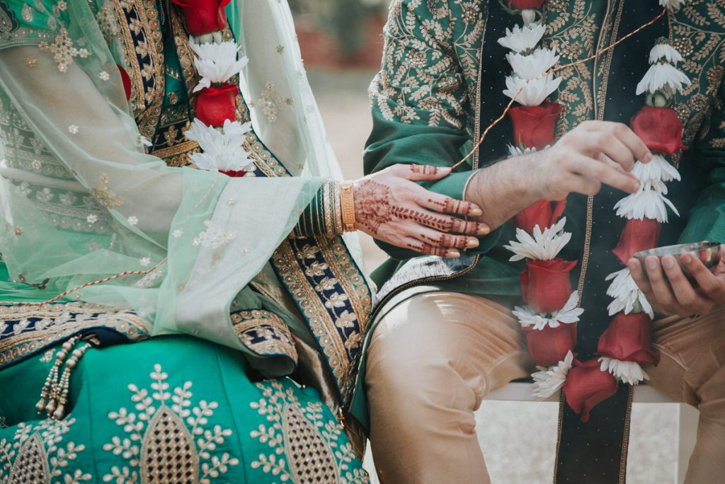 Indian wedding ceremony at Dutchess Manor