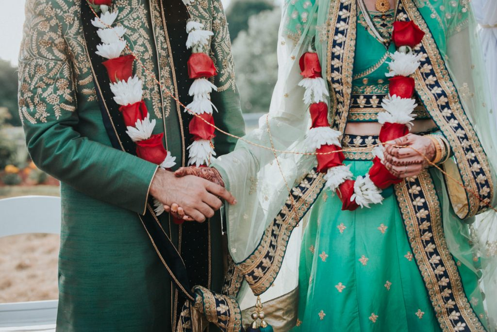 Indian wedding ceremony detail
