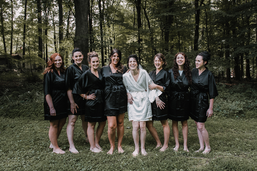 Garrison Wedding, Photos of Bride and bridemaids.