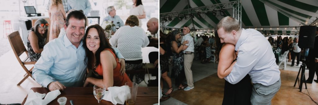 Fun Fishkill wedding reception photos