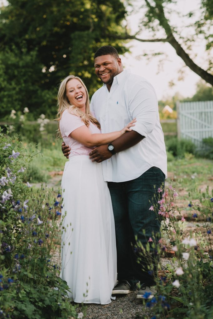Cold Spring NY Engagement Photo