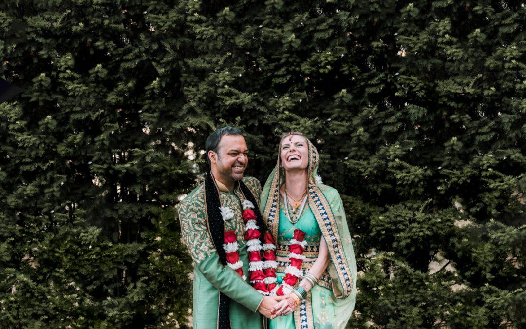 Beacon NY Wedding at Dutchess Manor | Indian Wedding Ceremony