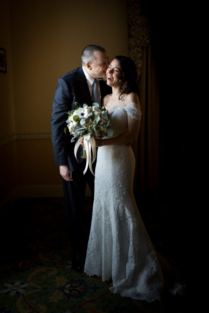 dark and moody wedding westchester ny