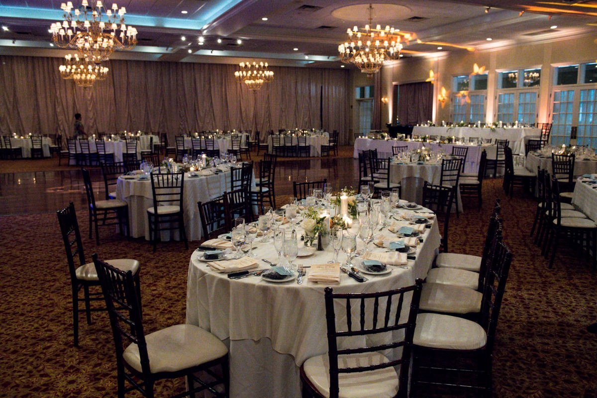 Poughkeepsie Grandview wedding reception photo