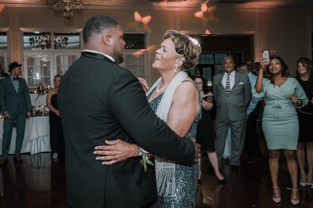 Poughkeepsie grandview wedding reception