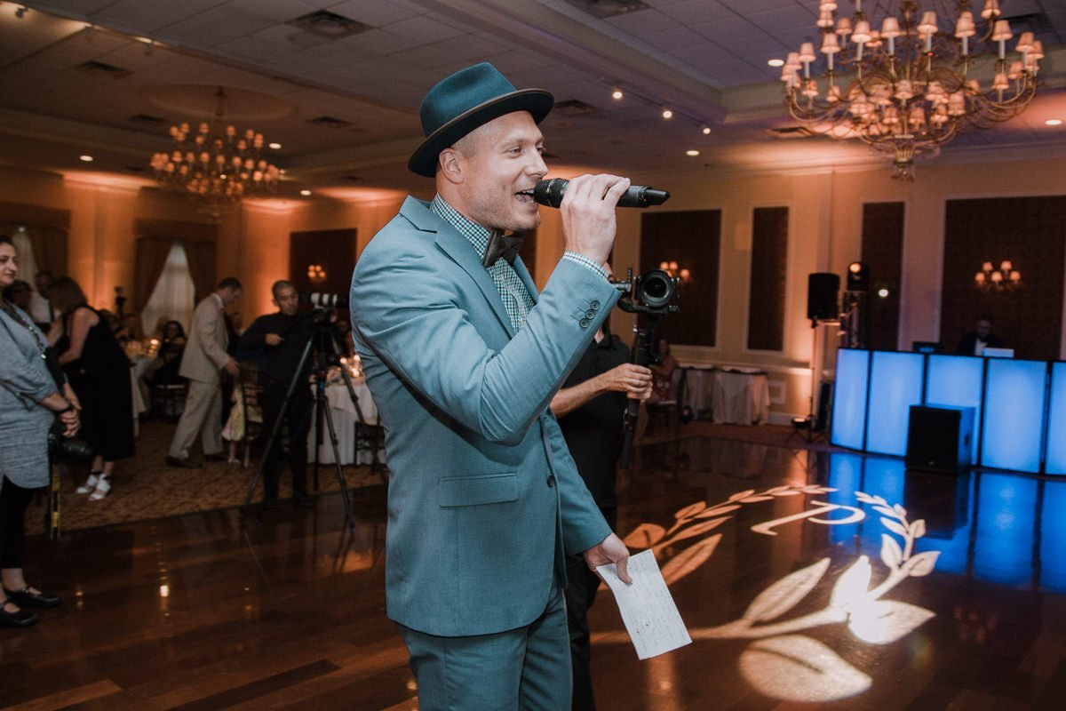 Poughkeepsie wedding reception