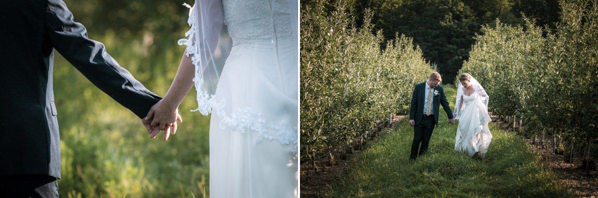 farm wedding at bad seed cider