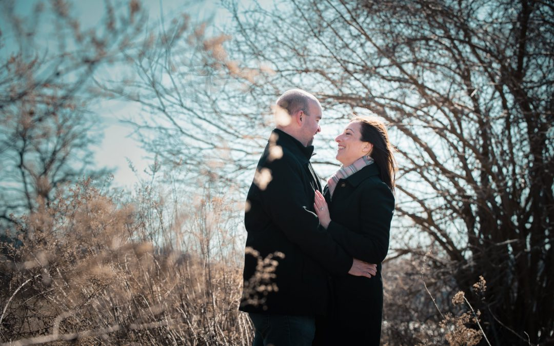 Cold Spring Marriage Proposal | Colleen and Chris