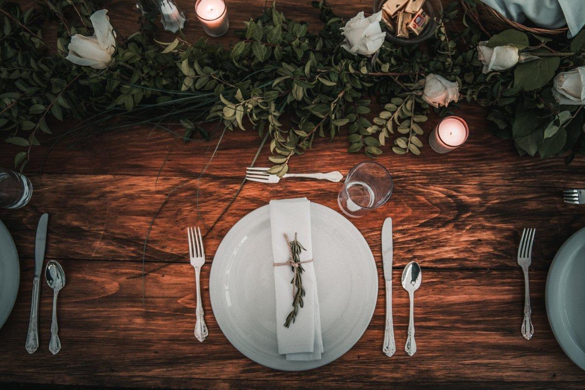 hudson valley wedding tablescape