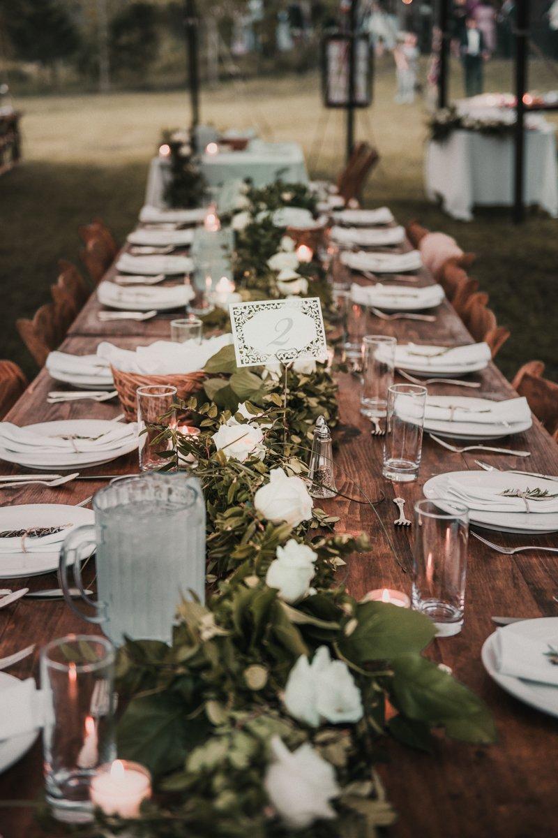 Hudson valley wedding table