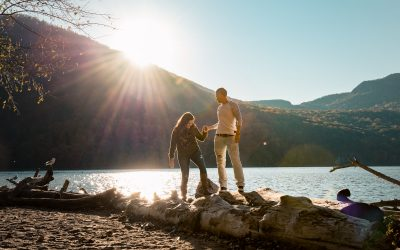 Cold Spring Engagement Photography | Heather and Cherie