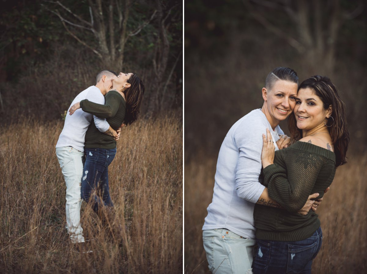 Cold Spring engagement photography