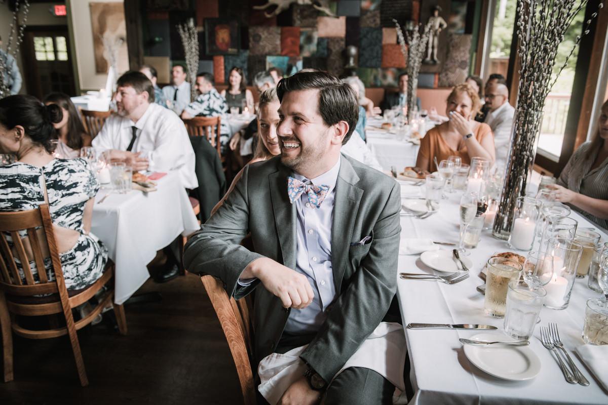 peekamoose restaurant wedding reception