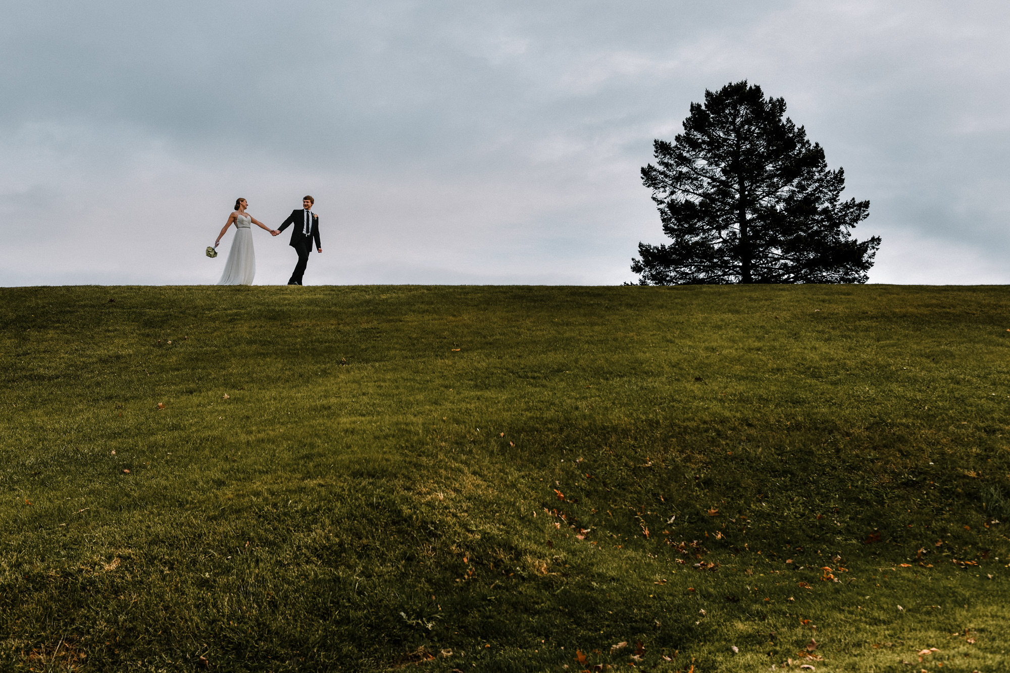 intimate wedding and elopement at Blue Hill Stone Barns