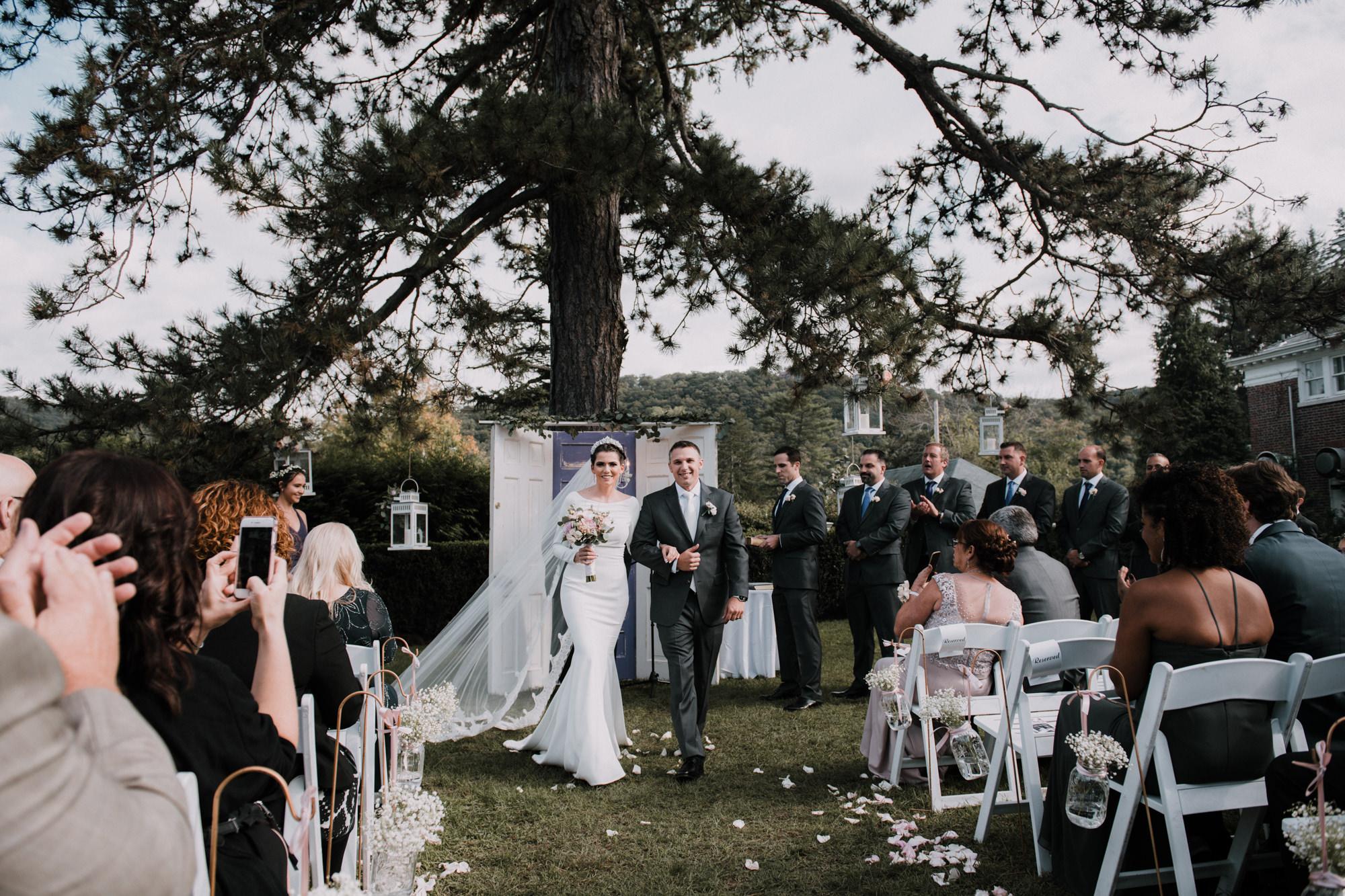 Highlands Country club wedding portrait