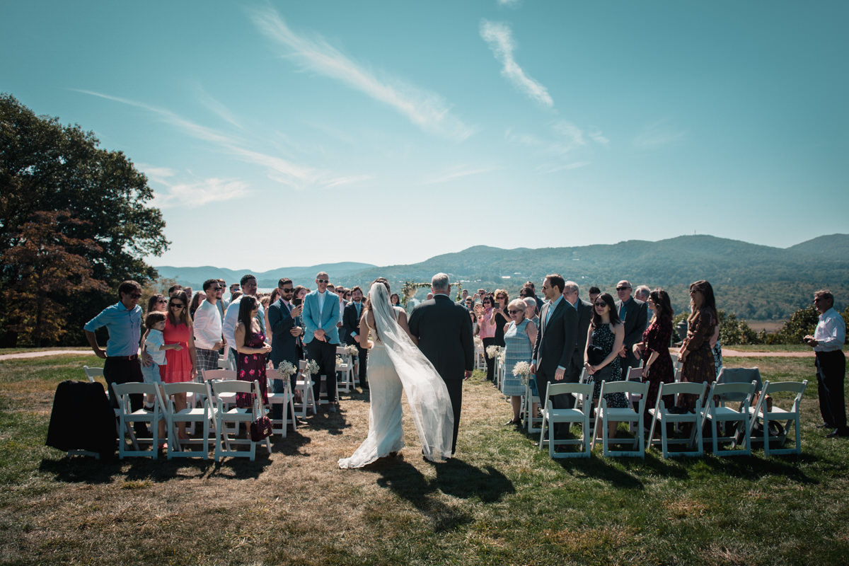 hudson valley wedding ceremony