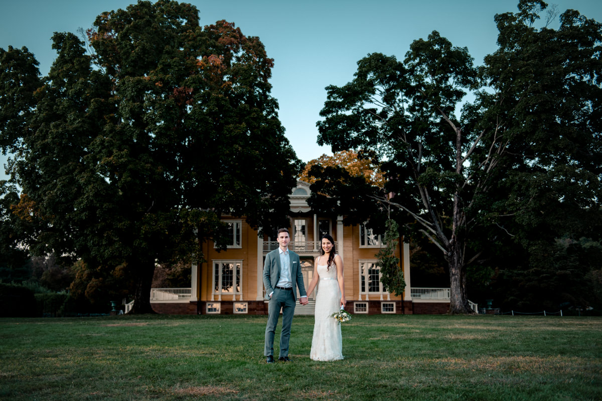 hudson valley wedding photographer at boscobel