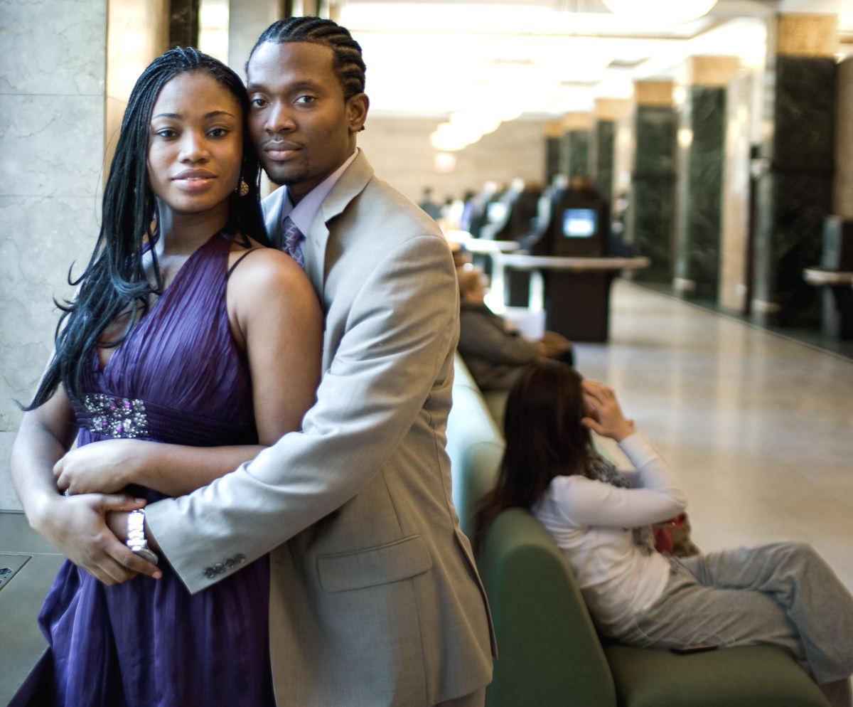 City hall elopement photographer