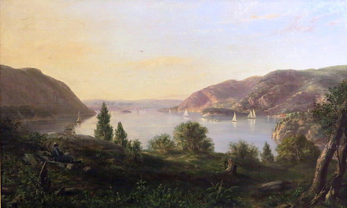 Ferguson Weir Painting of Wind Gate