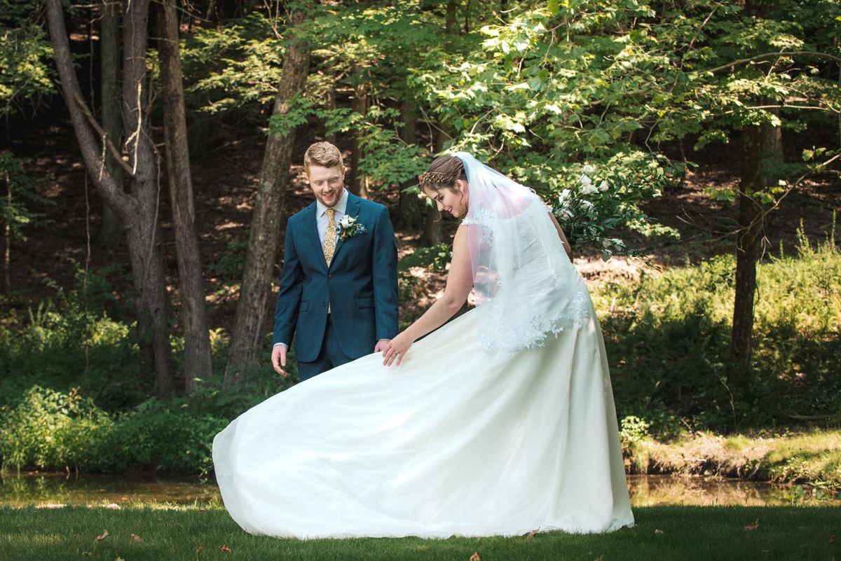Wedding First Look
