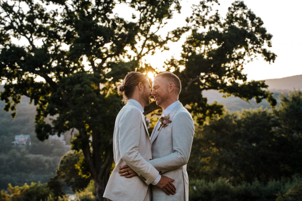 LGBTQ wedding in the hudson valley
