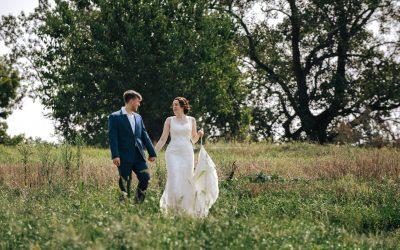 Intimate Blue Hill Stone Barns Wedding